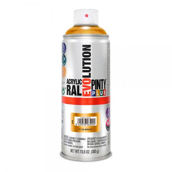 Pintura en spray pintyplus evolution 520cc latón p158